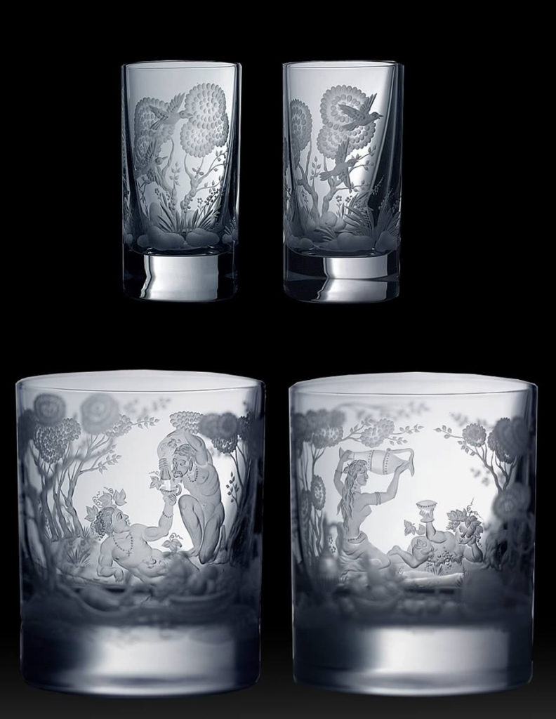 Гравированные стаканы