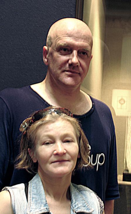 Елена Лаврищева и Владимир Маковецкий