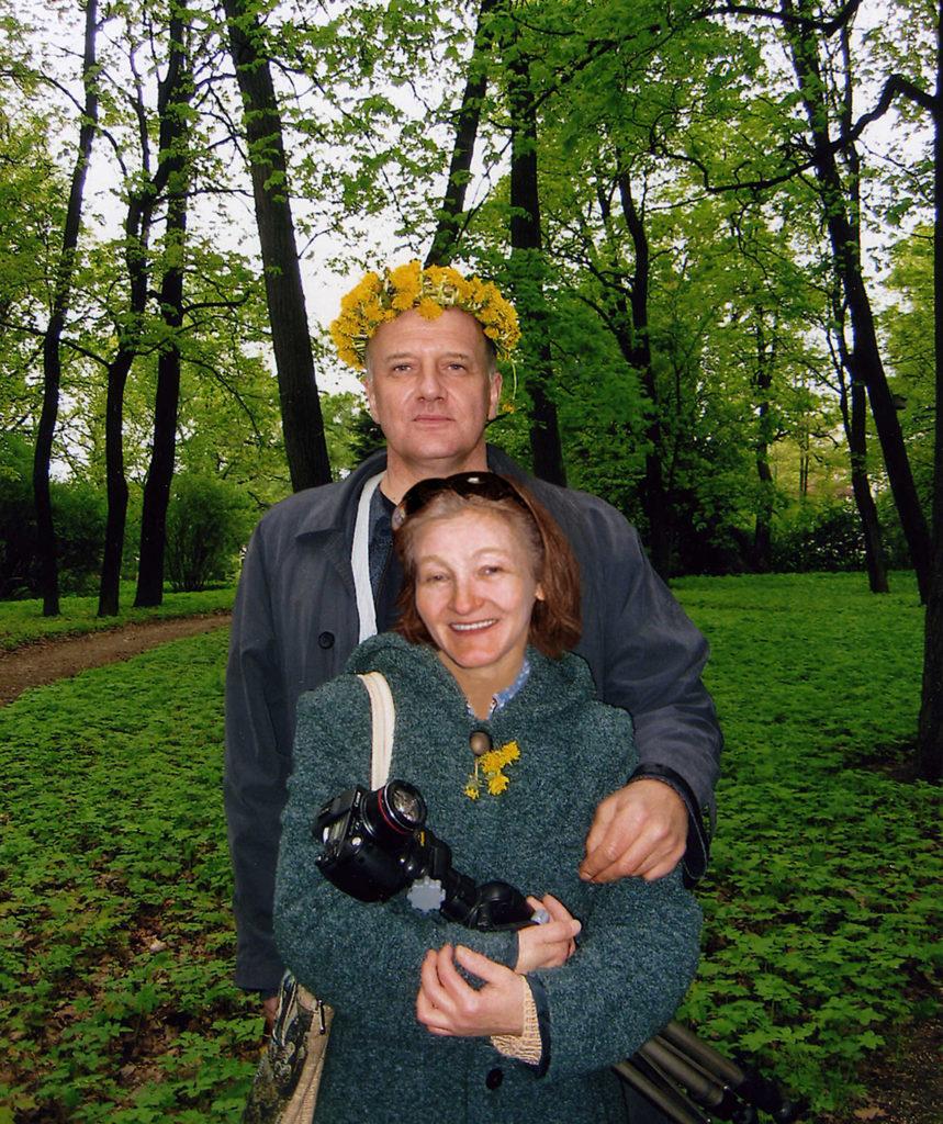 Художники-граверы Елена Лаврищева и Владимир Маковецкий