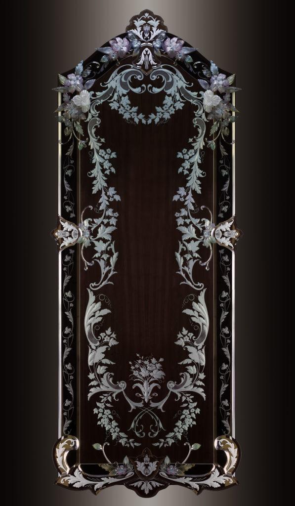 Гравированное зеркало