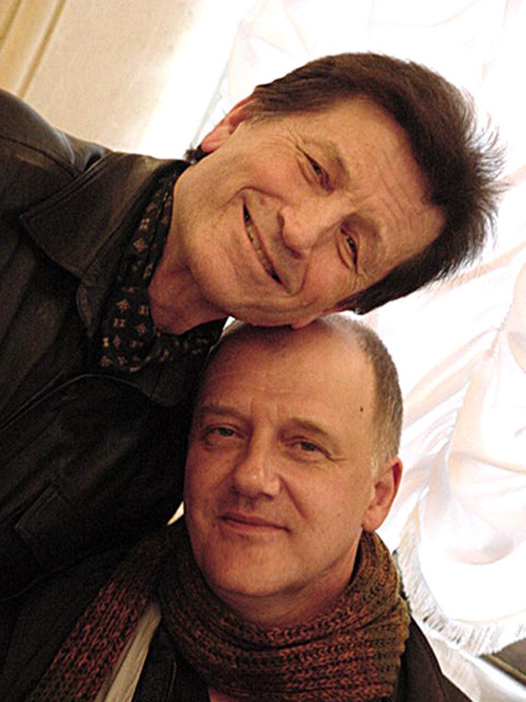 Владимир Маковецкий с Виктором Шевченко