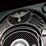 Фрагмент иконы Казанская божья матерь