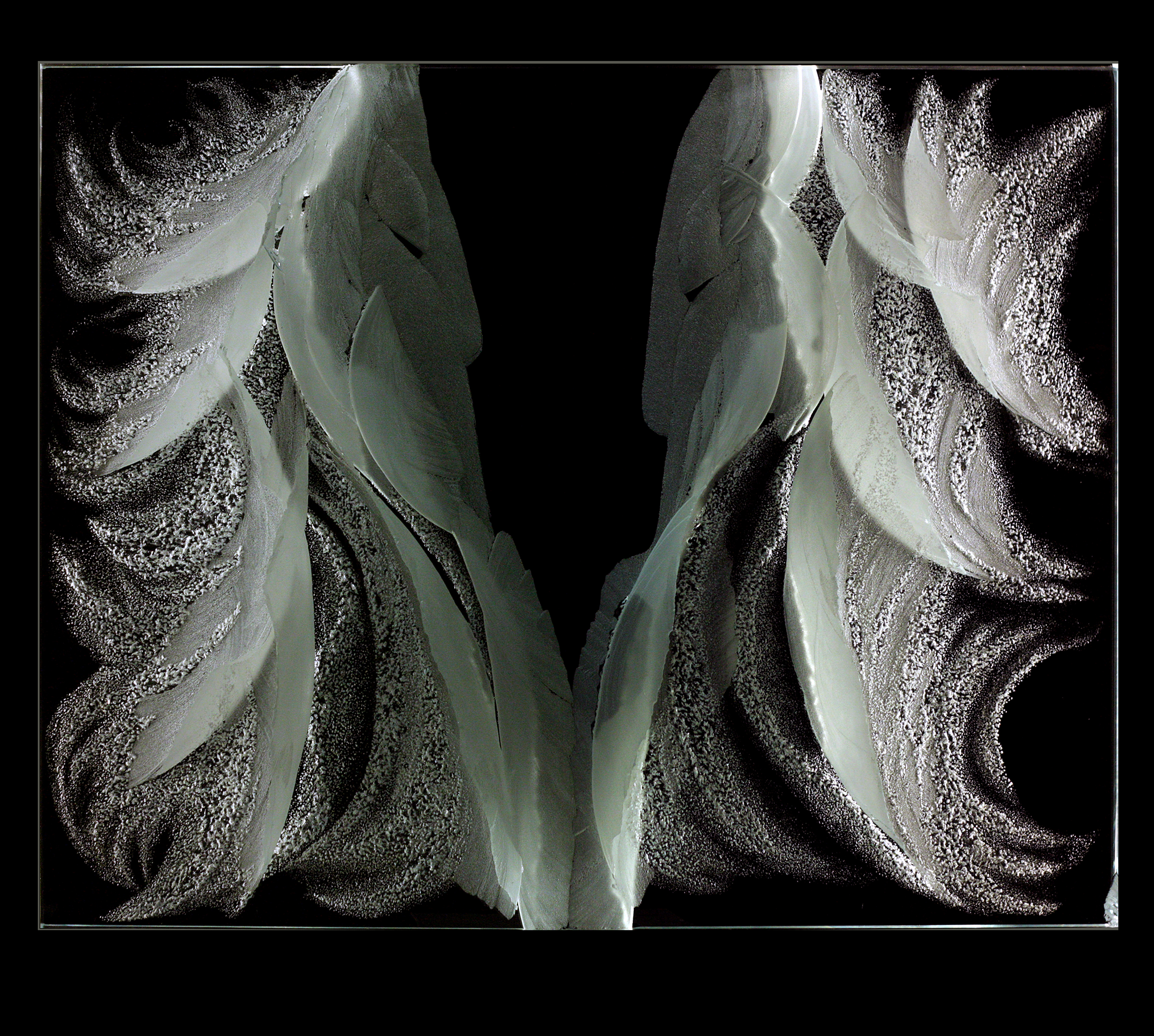 Арт-объект Белое безмолвие