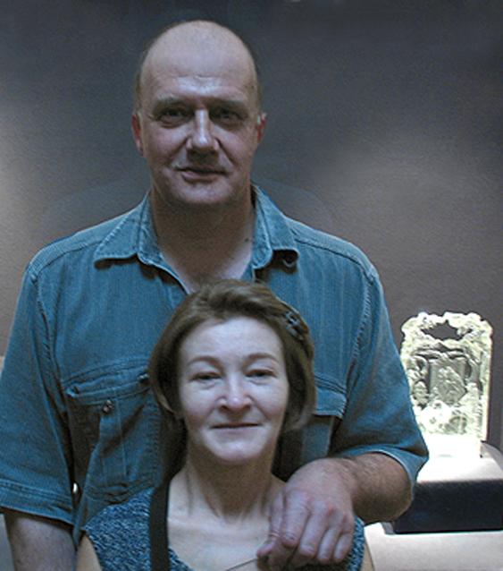 Владимир Маковецкий и Елена Лаврищева