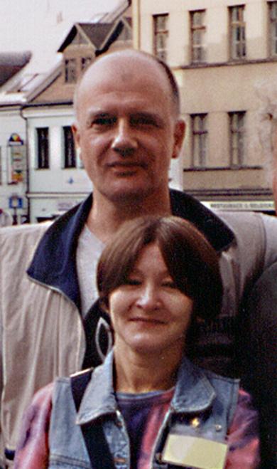 Владимир Маковецкий с супругой Еленой Лаврищевой