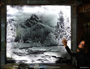 Художники-граверы по стеклу